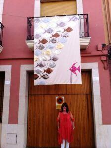 Yona's balconada Art Al Vent XI exhibition 2014
