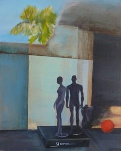 DUMMIES 24cm x 30cm Oil on canvas