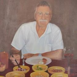 MARTIN 40cm x 50cm Oil on canvas