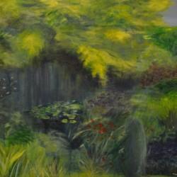 THE GARDEN 105cm x 86cm Acrylic on canvas