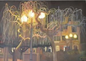 THE GLORIETA 100cm x 70cm Oil on canvas